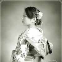 7/21 成人式COOLにね♫ レンタル振袖一式¥10000 札幌写真館ハレノヒ