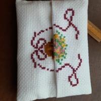 アメリカンカントリーな花刺繍!
