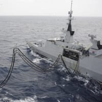 ☆ロシア艦隊の動向と 海自とフランス海軍との共同訓練の様子