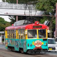 もはや、何代目のアンパンマン電車なのかわかりません(苦笑) とさでん交通600形 #66
