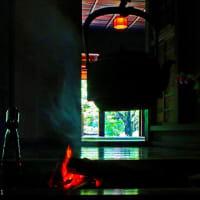 タイムスリップ:囲炉裏端の談笑