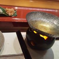 一の坂川沿いの老舗寿司屋でディナーデート