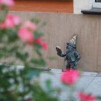 紀元2679年(令和元年)7月3日(水)のメモ: ヴロツワ…大きい小人に遭う♪  (Wroclaw/Poland)