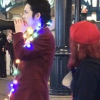 河合ゆうすけさんがディズニーリゾートでテレ東の収録 「いっちゃいやSHOW TIME!!」