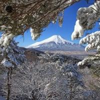 二十曲峠でのリベンジ雪景色