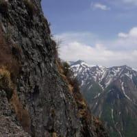 風の谷の谷川岳中央カンテ