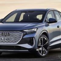 【アウディ】2023年発売の新型EVの車名は「Q6 e-tron」に決定したと発表!