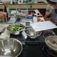 新じゃがと春大根で料理教室