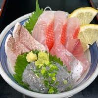 金目鯛が揚がった日の限定丼「鯛らげる丼」小田原魚河岸でん