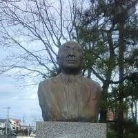 吉田芳夫「大泉源郎氏寿像」 苫小牧の野外彫刻(16)