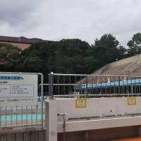 本日は大龍寺に行って汗だくに。そのあと王子スポーツセンタープールへ。水質検査をする必要がありと言って幼児プール営業中止に。真田山プールならうんこを網ですくい何食わぬ顔をして営業するのに。