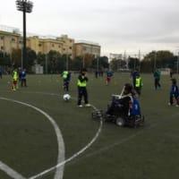障がい者サッカーとウォーキングフットボール