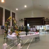 都泉祭 校内展示