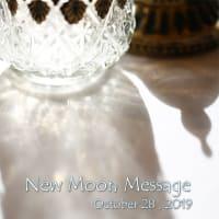✤2019年10月28日さそり座の新月を迎えて・・・✤