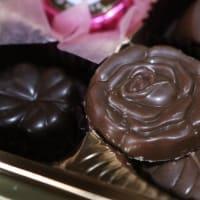 バレンタインチョコを開封