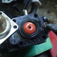 草刈機の故障を緊急修理(プライマリーポンプの交換)