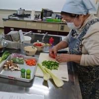 グリンピースとキャベツの料理教室