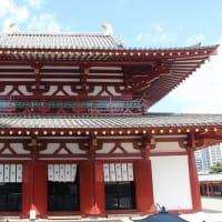 静かな四天王寺