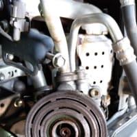 ワゴンR(MH23S)エアコンマグネットクラッチ修理