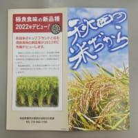 秋田の米ぢからリーフレット