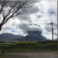 阿蘇山噴火2021.10.20