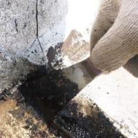 和光市の屋上アスファルト防水の雨漏りは、改修用ドレン取付+ウレタン防水/職人魂の防水屋