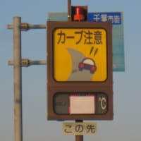 有料道路の気温計はまだマスクをしています。 (2019年11月16日千葉市緑区)