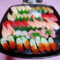 今日の逸品(笑)!やっぱり、お寿司だった( ^ω^)・・・