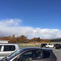 虹と紅葉とR1