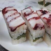 タコの押し寿司♪