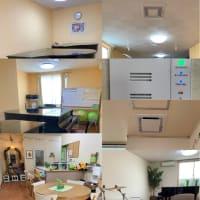 ◯空調・空気清浄機設置 および防音工事が終了しました😊