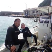 2021/7/22-23 OW講習!最後はボートダイビング!!