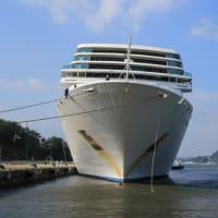 乗客無しのクルーズ船「コスタ・ネオロマンチカ」