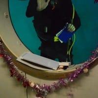 秋田県立男鹿海洋高校 潜水プール