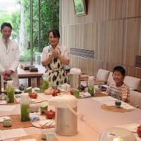 7月27日 夏休み特別企画 小野園「親子日本茶教室 in とらや」