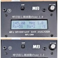 ⑧ 144MHz 2エレ/430MHz 3エレ デュアル八木アンテナ