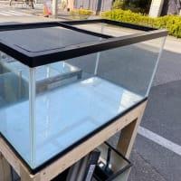 中古900×450×450ガラス水槽