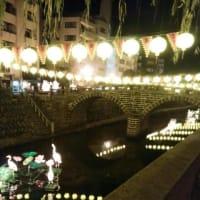 長崎ランタンフェスティバル開幕前夜