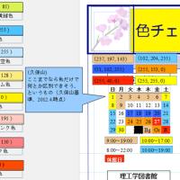 [カラーバリアフリー] 識別できる色の実例
