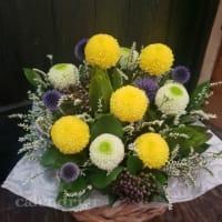 お盆のお供え花