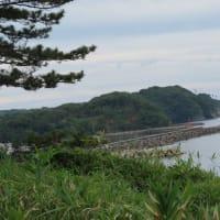 加賀海岸 尼御前岬へ・・・