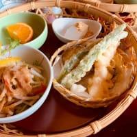 かもがた茶屋で和食の昼食