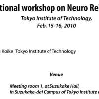 ニューロリハビリテーションに関する国際ワークショップ開催