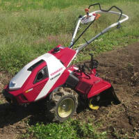 新しい耕運機がやってきた