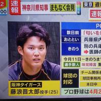 〔旧阪神タイガース〕藤浪晋太郎が新型コロナウイルス感染の疑い、PCR検査へ