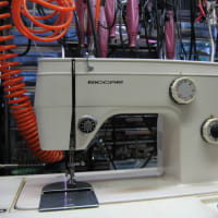 RICCAR RZ-550 リッカーミシン修理