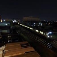 浜松は中野町の花火と普通列車 (2019年8月17日)