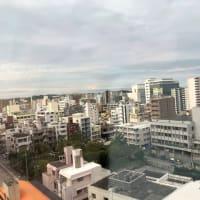 晴れの沖縄県那覇市です