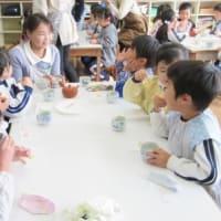 11月12日 聖マリア幼稚園で、日本茶教室