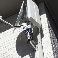 清水町 デザインアンテナ+BS/CSアンテナ取付工事